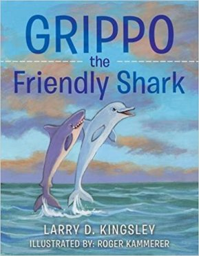 Grippo the Friendly Shark Book Cover