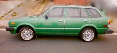 HG Green Car