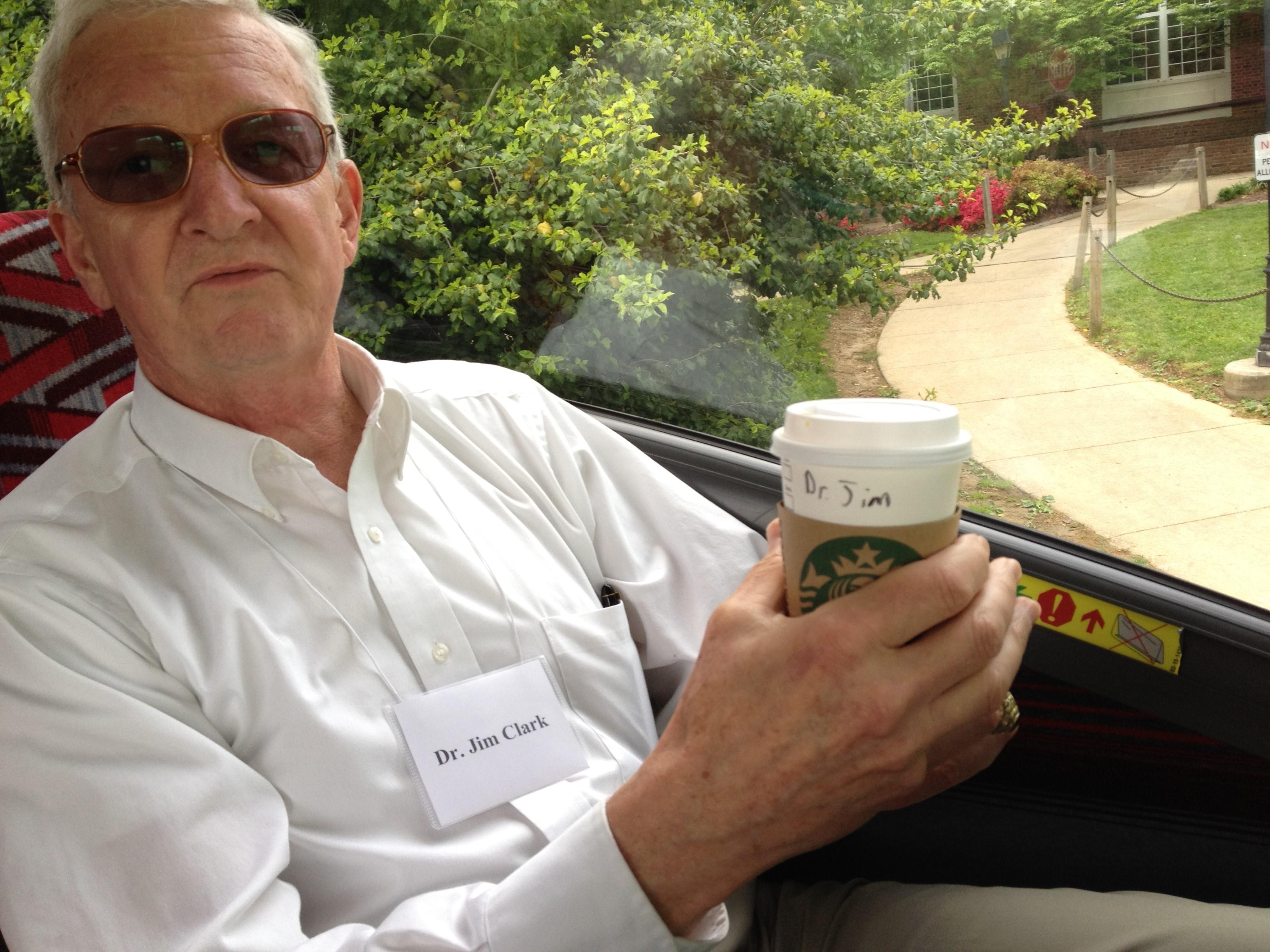 Dr Jim Coffee Cup